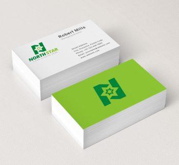 North-Star-Business-Card-Mockup