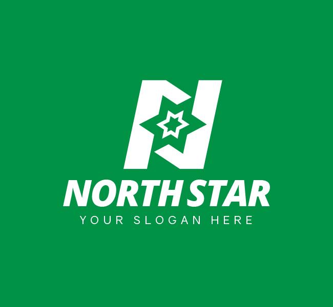 North-Star-Pre-Designed-Logo
