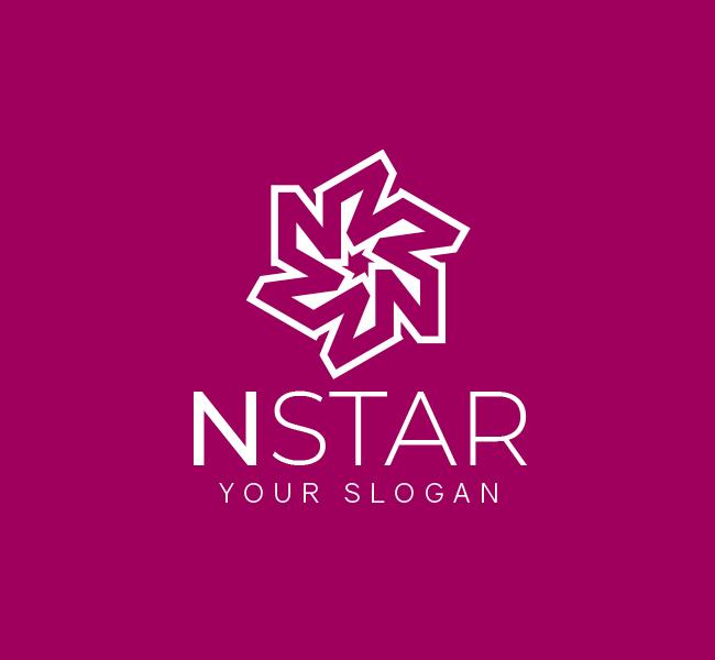 N-Star-Logo-Pre-Designed-Logo