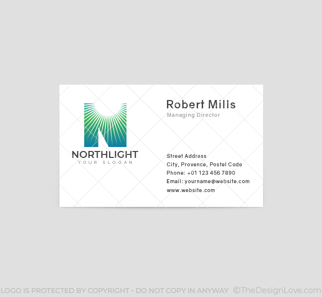 North-Light-Business-Card-Front