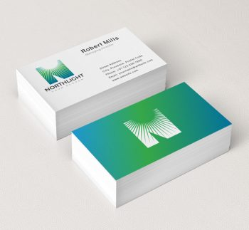 North-Light-Business-Card-Mockup