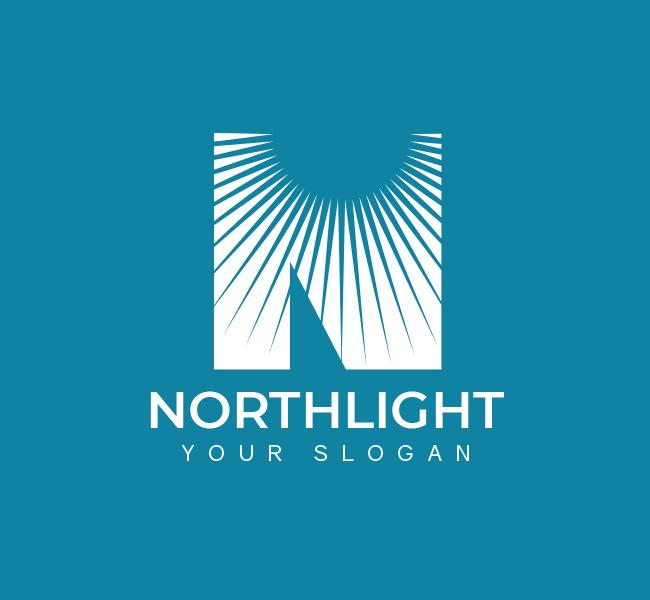 North-Light-Pre-Designed-Logo