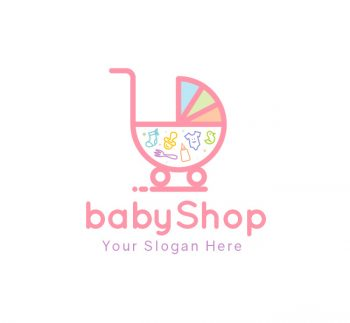 Baby Shop Logo & Business Card