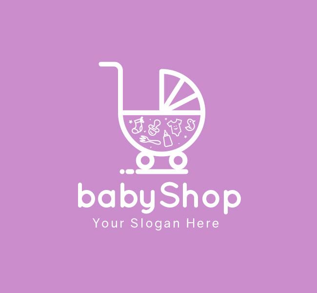 Baby-Shop-Pre-Designed-Logo