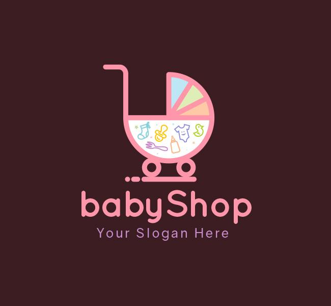 Baby-Shop-Start-up-Logo