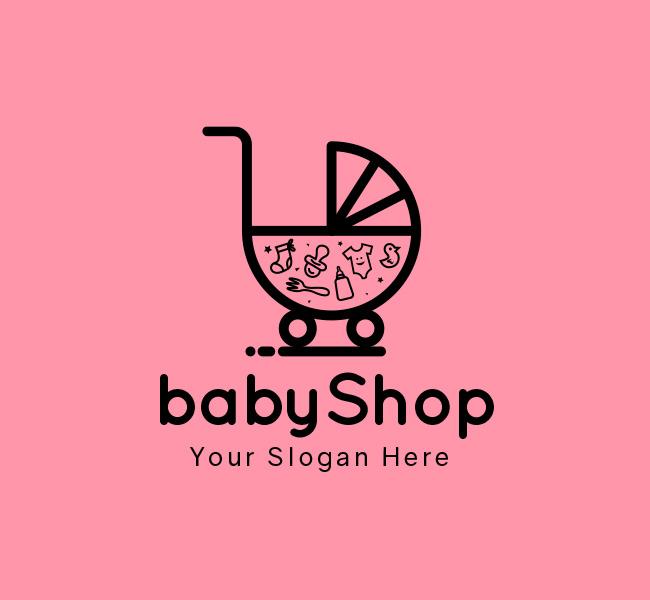 Baby-Shop-Stock-Logo