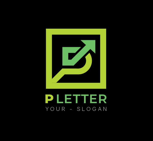 P-Letter-Start-up-Logo