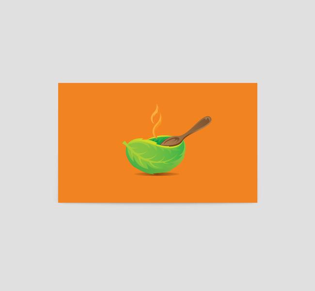O-Letter-Organic-Food-Business-Card-Back
