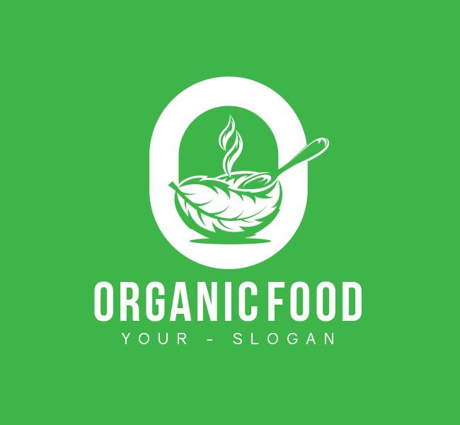 O-Letter-Organic-Food-Pre-Designed-Logo