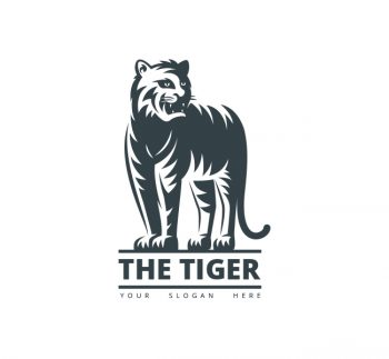 The Tiger Logo & Business Card Template