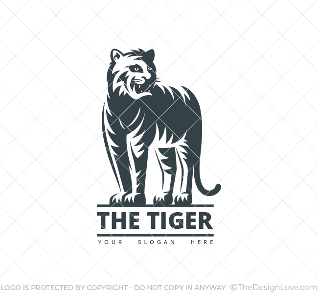the tiger logo business card template the design love the tiger logo business card template