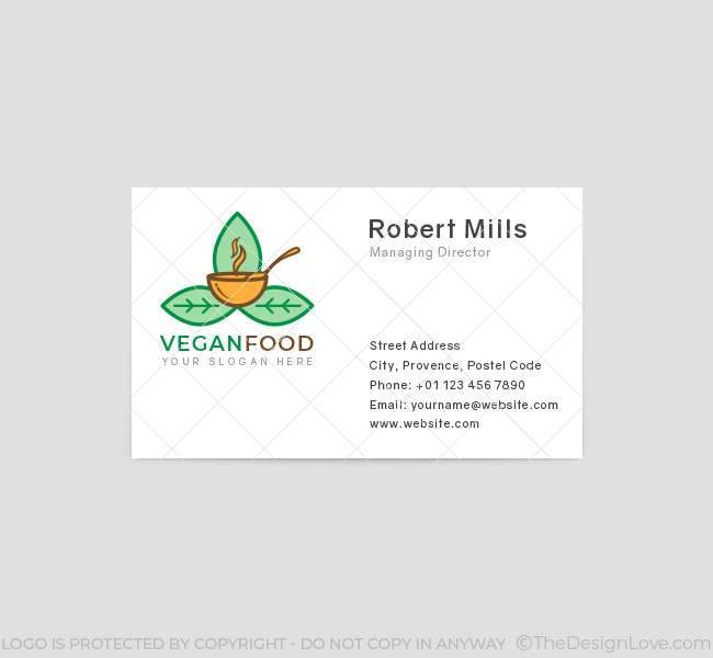 Vegan-Food-Business-Card-Front