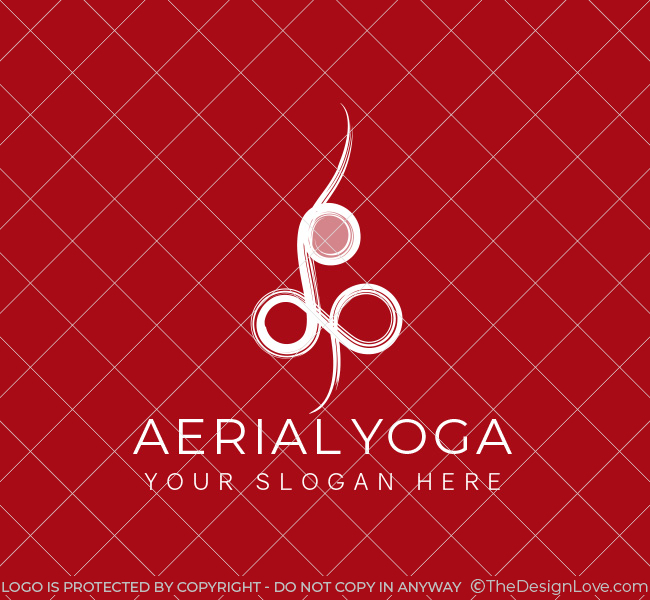 Simple-Aerial-Yoga-Pre-Designed-Logo