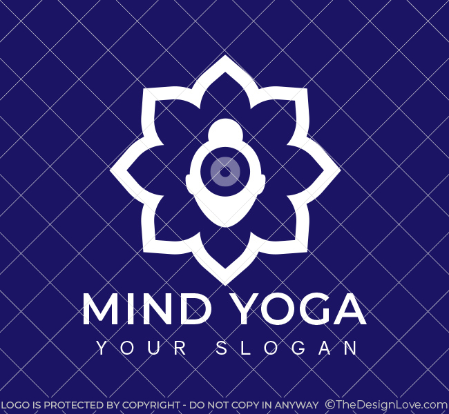 Mind-Yoga-Pre-Designed-Logo