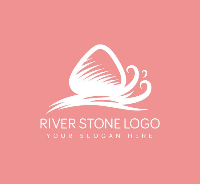 River-Stone-Pre-Designed-Logo