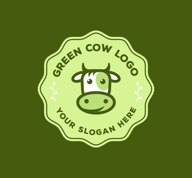 Eco-Cow-Farming-Logo