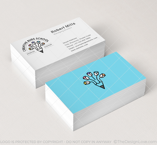 Creative-Buds-Preschool-Business-Card-Mockup