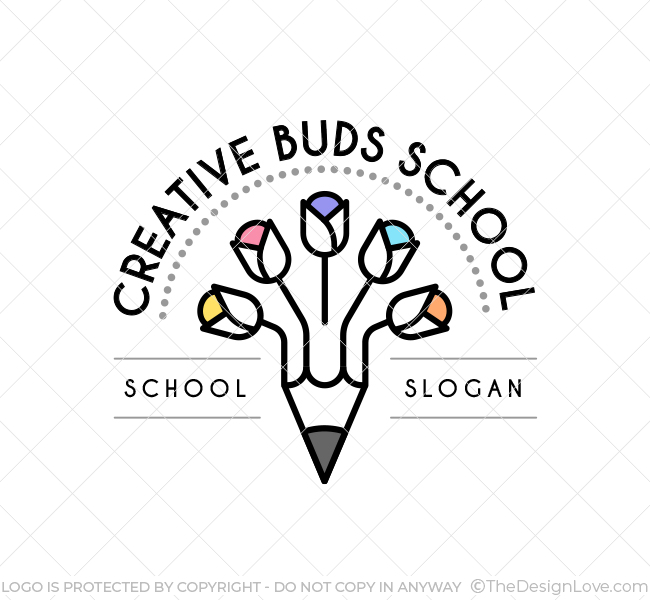 Creative Buds Preschool Logo