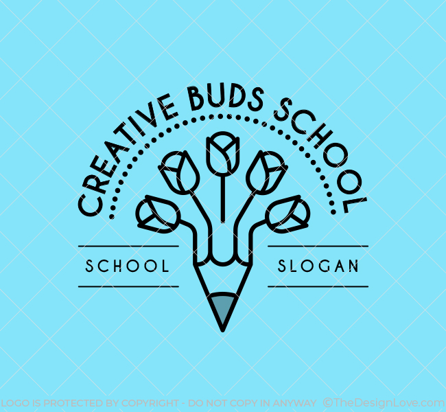 Creative-Buds-Preschool-Stock-Logo
