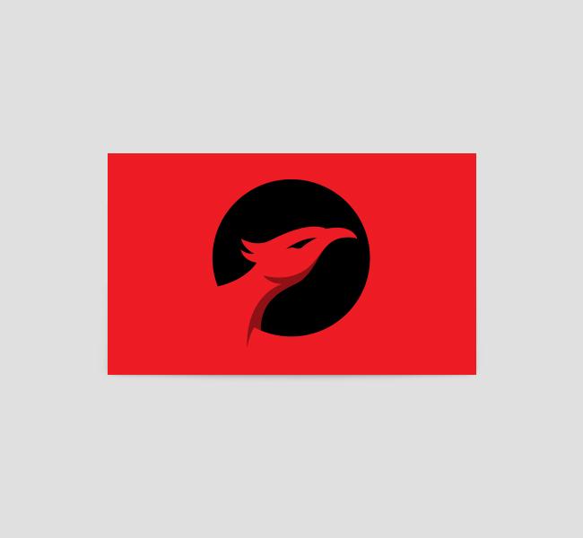 Phoenix-Head-Business-Card-Back