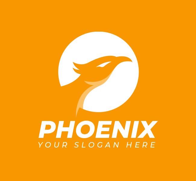 Phoenix-Head-Pre-Designed-Logo