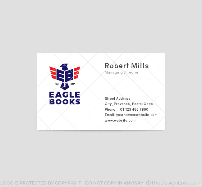 Eagle-Books-Business-Card-Front