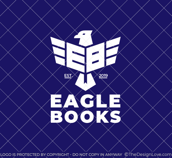 Eagle-Books-Pre-Designed-Logo