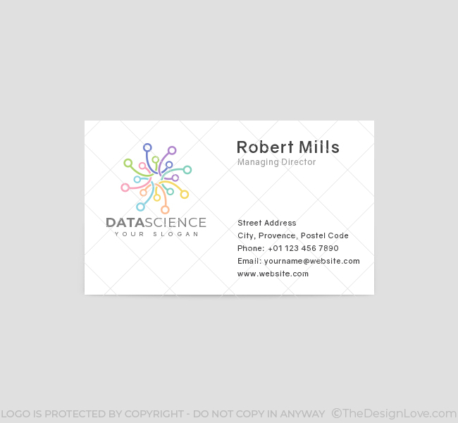 Minimal-Data-Science-Business-Card-Front