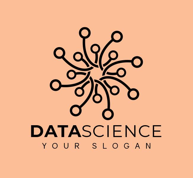 Minimal-Data-Science-Stock-Logo-Template