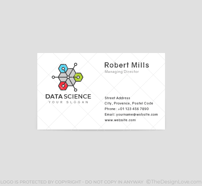 Digital-Data-Science-Business-Card-Front