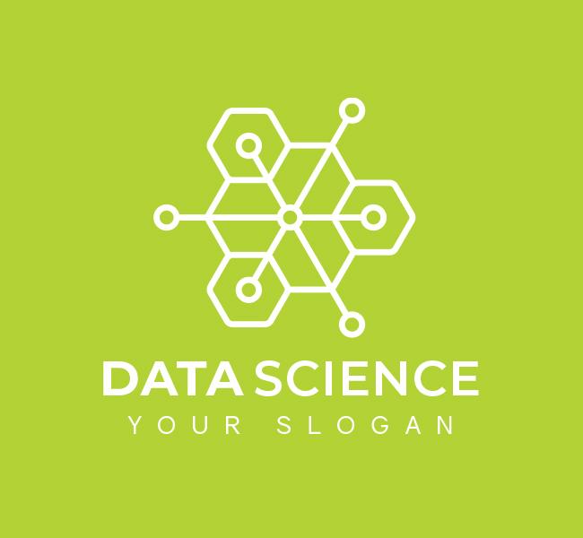 Digital-Data-Science-Pre-Designed-Logo