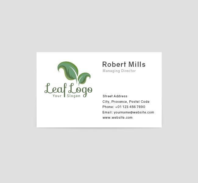 Leaf-Business-Card-Front