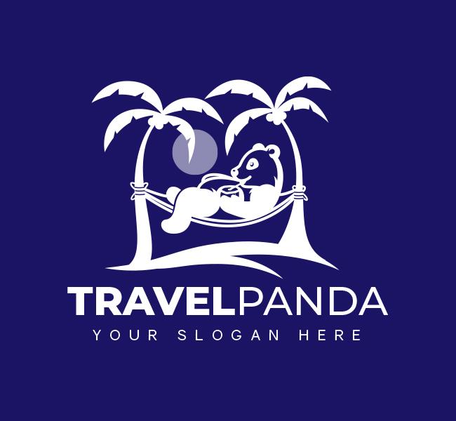 Panda-Travel-Pre-Designed-Logo