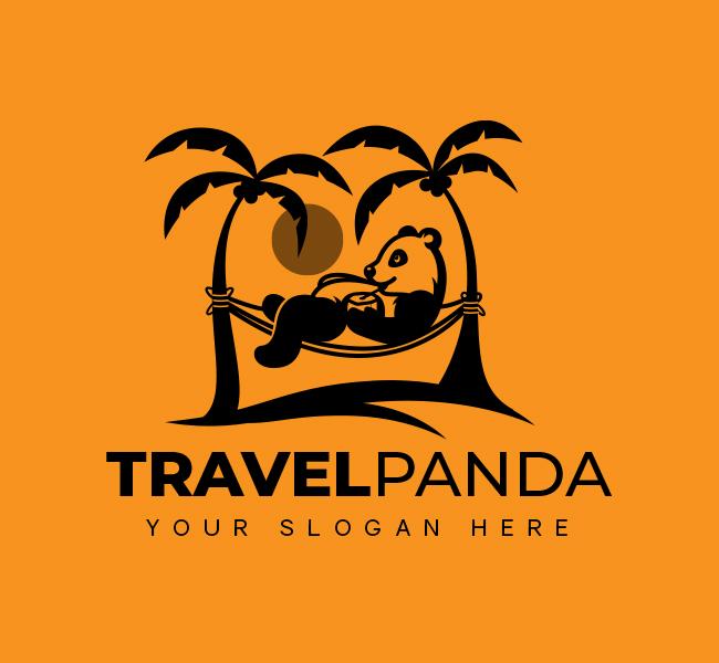 Panda-Travel-Stock-Logo