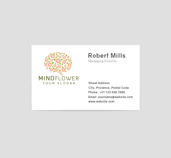 Mind-Flower-Business-Card-Front