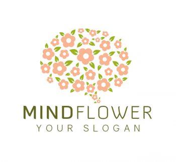Mind Flower Logo & Business Card
