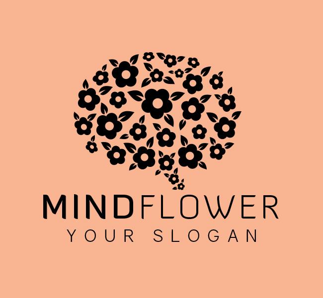 Mind-Flower-Stock-Logo
