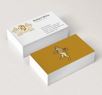 Lion-Shield-Business-Card-Mockup
