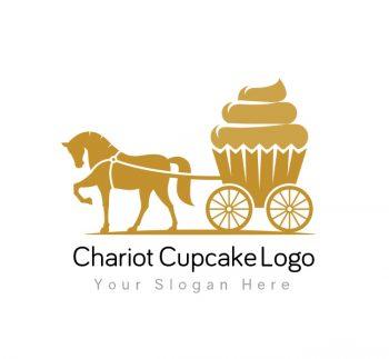 Chariot Cupcake Logo & Business Card