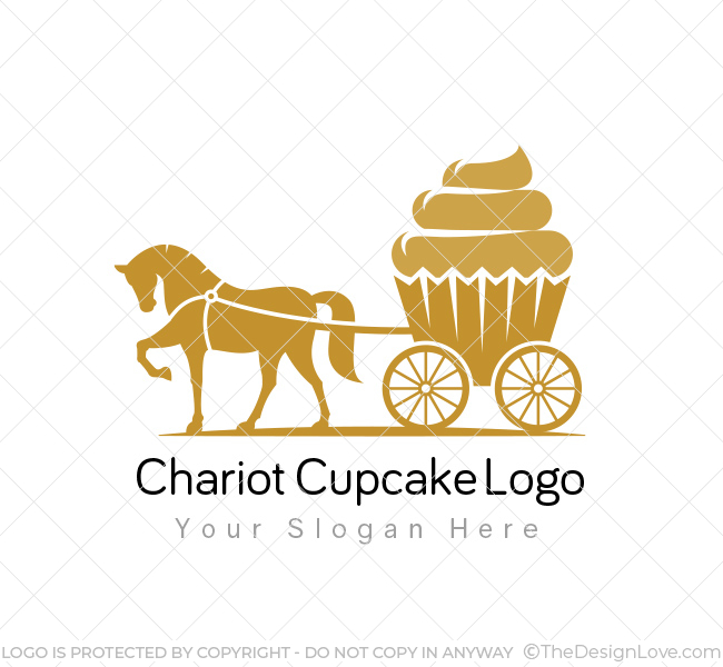 Chariot Cupcake Logo