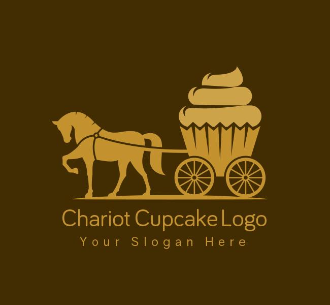 Chariot-Cupcake-Startup-Logo