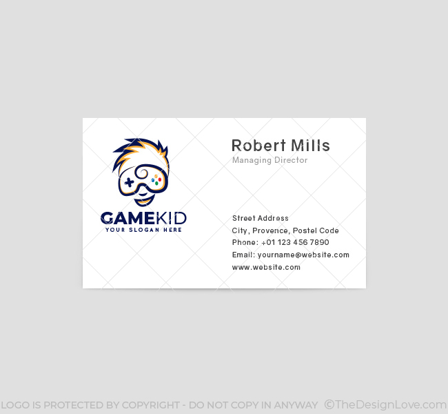 Kid-Game-Business-Card-Front