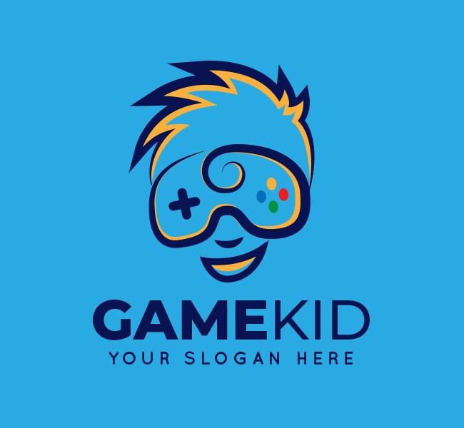 Kid-Game-Startup-Logo