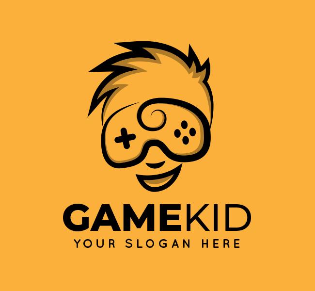 Kid-Game-Stock-Logo