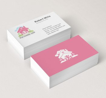 Kids-Play-School-Business-Card-Mockup