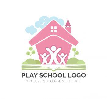 Kids Play School Logo & Business Card