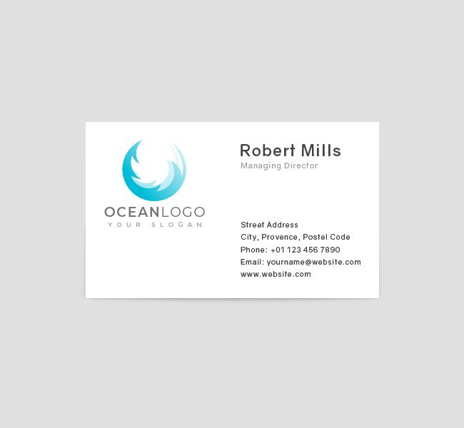Ocean-Business-Card-Front