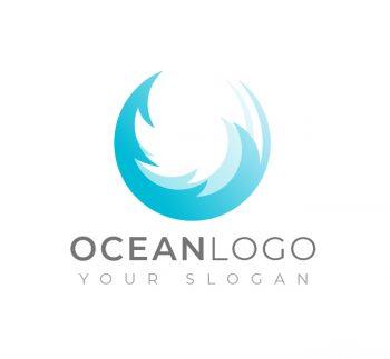 Ocean Logo & Business Card