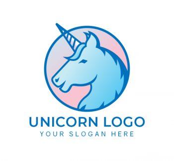 Unicorn Logo & Business Card