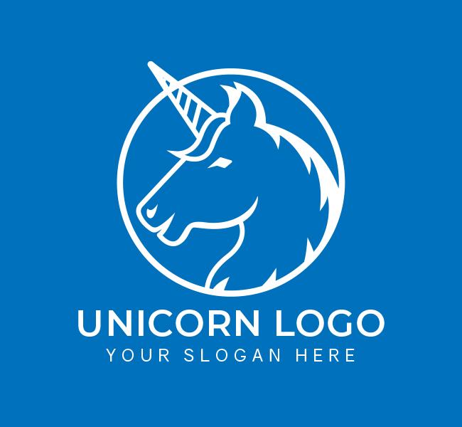 Unicorn-Pre-Designed-Logo